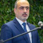 Cônsul Geral do Líbano em São Paulo, Rudy El Azzi, falou ao público do evento de inauguração do Consulado Honorário do Líbano em Campinas-SP